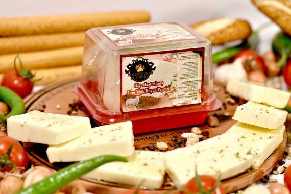 Olgunlaştırılmış Ezine Tam Yağlı Koyun Peyniri